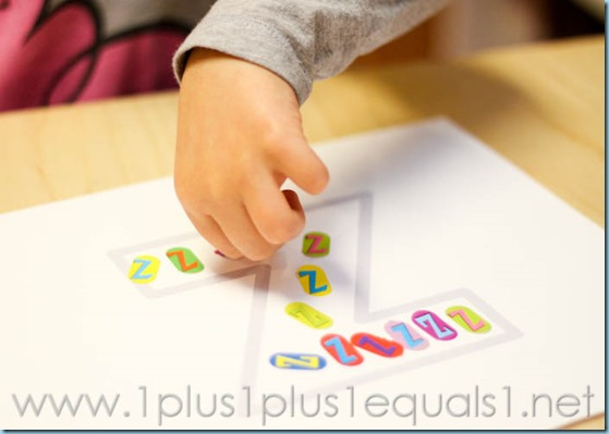 Home Preschool Letter Z -6709