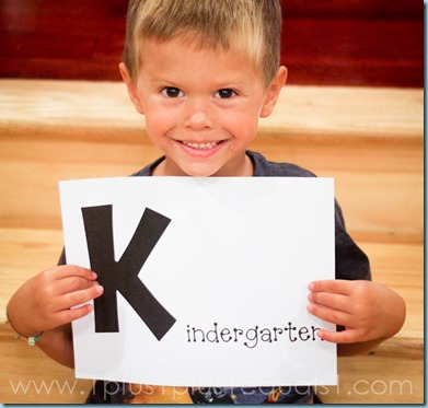 Homeschool Kindergarten with Krash