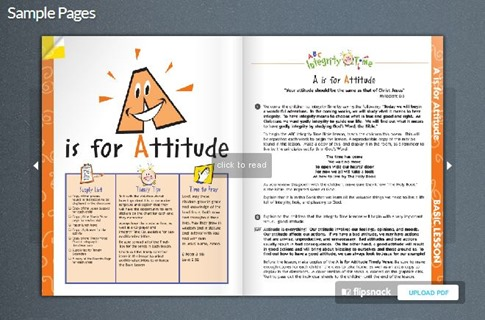 Integrity Time Bible Seample Lesson