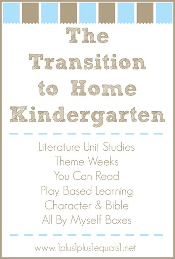 The Transition to Home Kindergarten