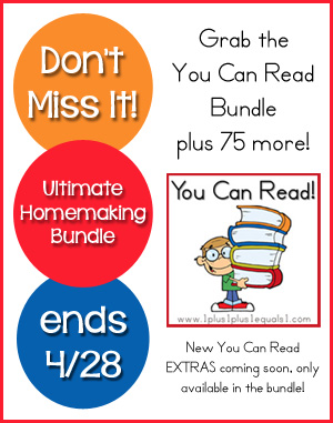 You Can Read in the Ultimate Homemaking Bundle 2014