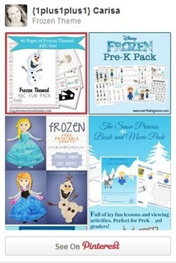 Frozen Pinterest Board[4]