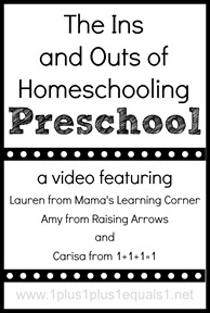 Homeschooling Preschool