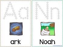 Noah's Ark Q-tip Printables