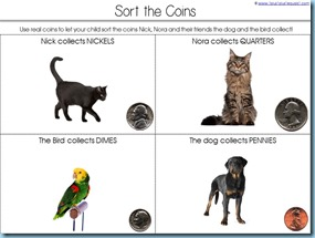 Coin Identification for Kinderagrtners