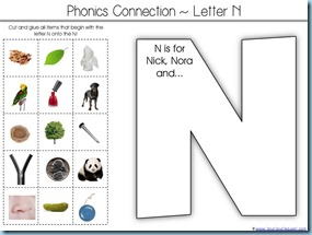 Letter N is for...