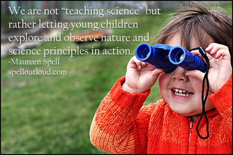Studying Nature with Tots