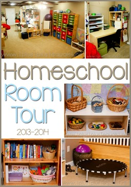 Homeschool Room Tour 2013