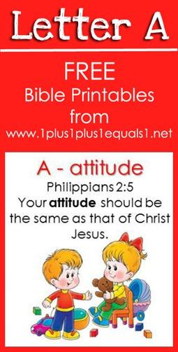 RLRS Letter A Philippians 2 5 Bible Verse Printables