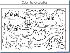 The Selfish Crocodile Kindergarten Literature Unit