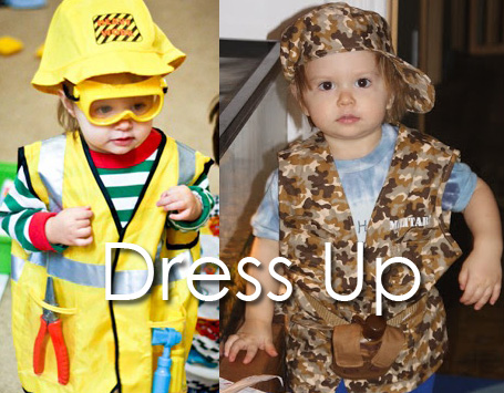 Tot School Ideas 18-24 Months -- Dress Up from www.1plus1plus1equals1