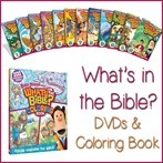 What's in the Bible DVDs and Coloring Book[13]