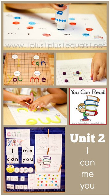 You Can Read Sight Words Unit 2
