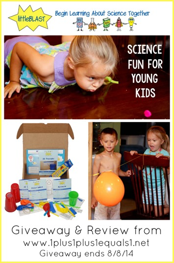 littleBLAST science for young children