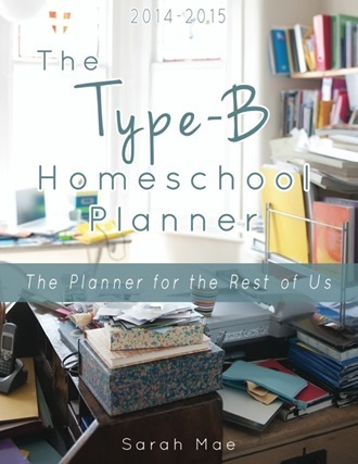 The Type-B Homeschool Planner