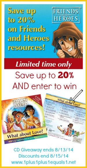Friends and Heroes Discount and CD Giveaway