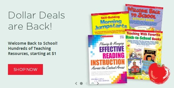 Scholastic Dollar Deals Fall 2014