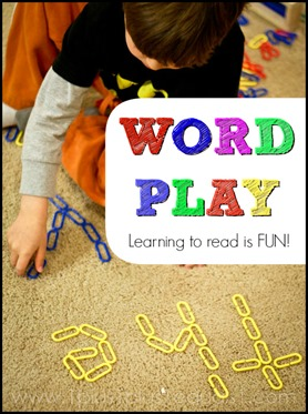 Word Play -  Learning to read is fun!