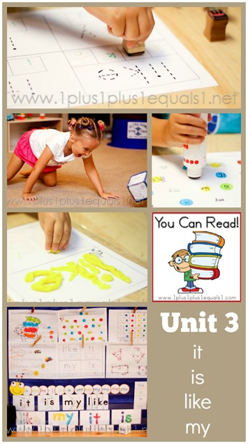 You Can Read Sight Words Unit 3