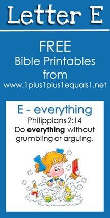RLRS Letter E Philippians 2 Bible Verse Printables