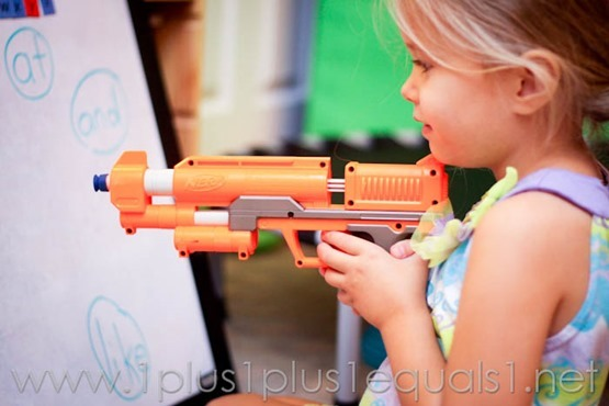 You Can Read Review - Shoot Sight Words with Nerf Gun!
