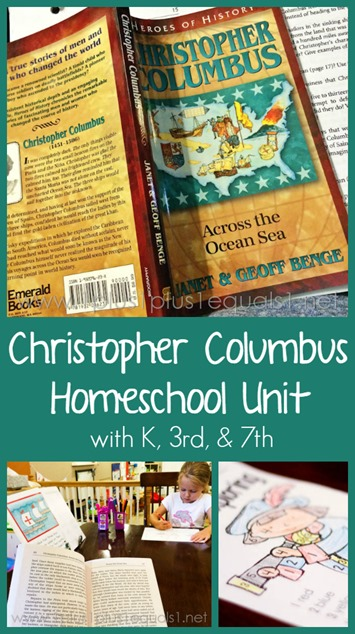 Christopher Columbus Homeschool Unit