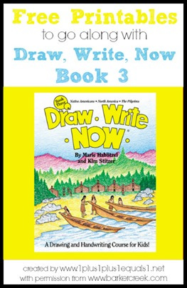 Draw, Write, Now Book 3 Printables