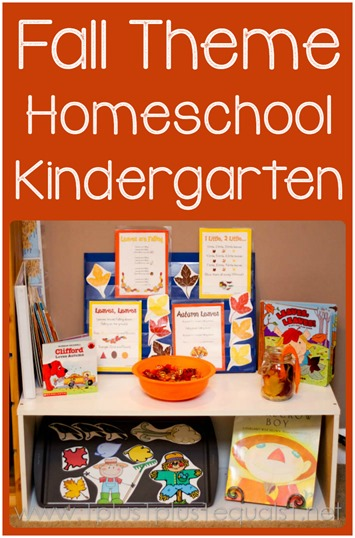 Fall Theme Kindergarten Fun
