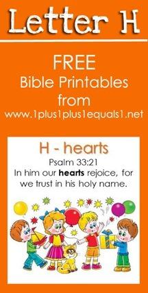 RLRS Letter H Psalm 33 Bible Verse Printables