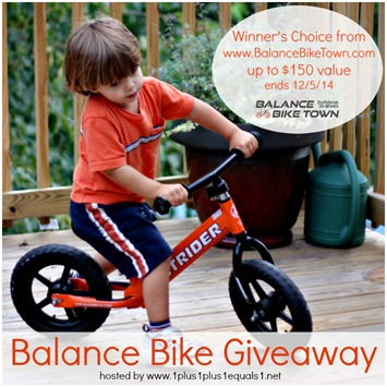 Balance Bike Giveaway FB
