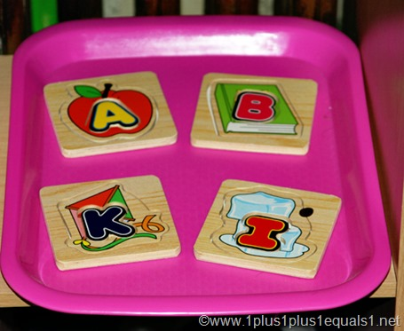 Alphabet Puzzle Tot Tray