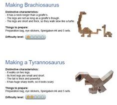 Spielgaben Making Dinosaurs