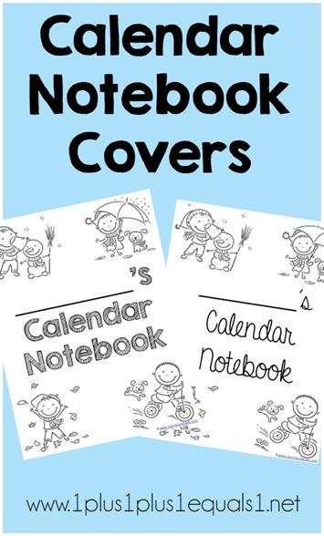 Calendar Notebook 2015 : Calendar notebook covers