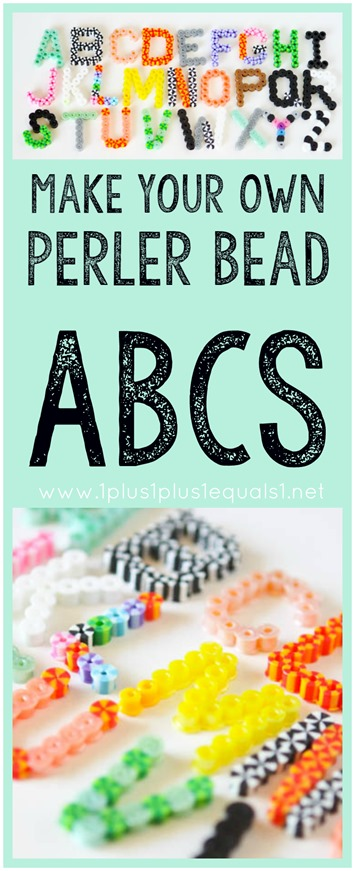 Make Your OWN Perler Bead Alphabet