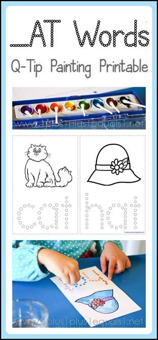 All Worksheets 187 Cat Bat Mat Worksheets Printable