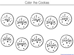 Color the Cookies