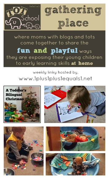 Tot School Gathering Place ~ Week 105