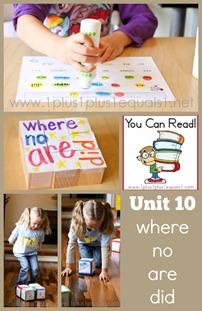 You Can Read Sight Words Unit 10