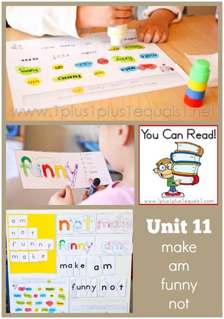 You Can Read Sight Words Unit 11