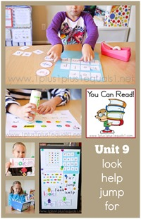 You Can Read Sight Words Unit 9