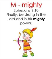Raising Lil' Rock Stars Letter M for Mighty
