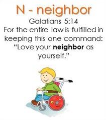 Raising Lil' Rock Stars Letter N for Neighbor