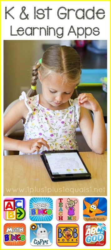 1st Grade and Kindergarten Learning Apps