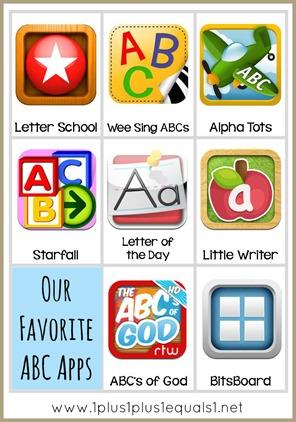 Alphabet Apps