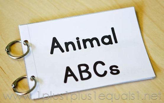 Animal ABC Easy Reader -6891