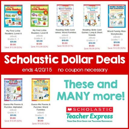 Dollar Deals April 2015