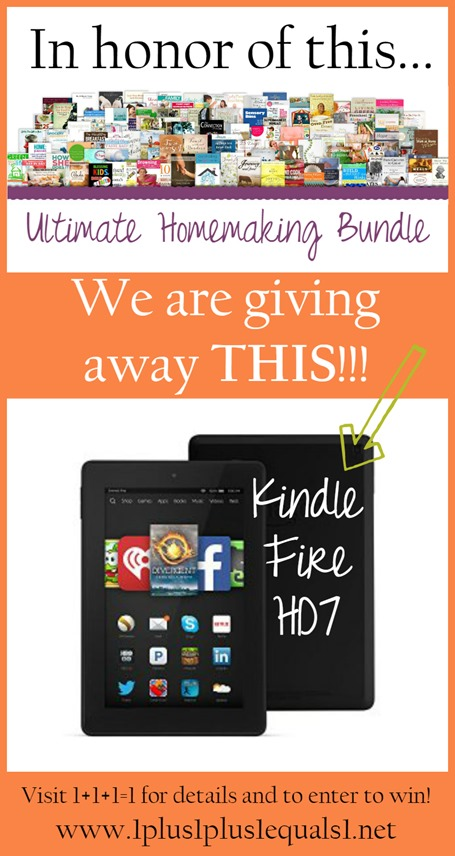 Kindle Fire HD7 Giveaway ~ ends 42815