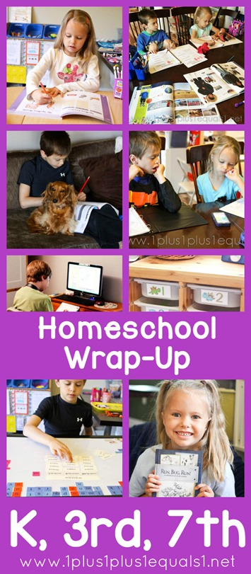 Monthly Homeschool Wrap Up March 2015
