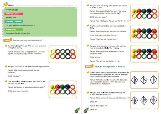Spielgaben Math Guide Lesson 6