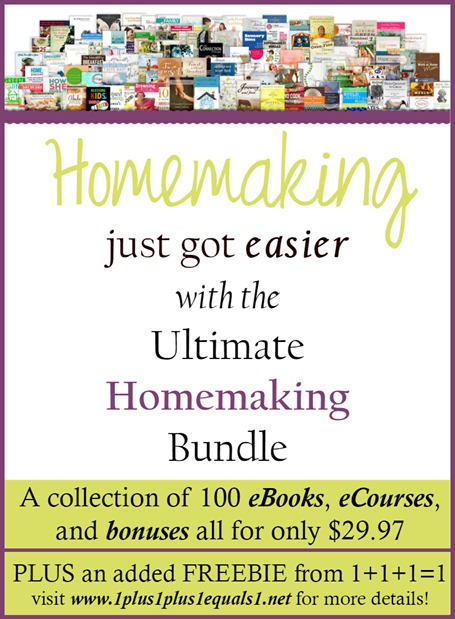 Ultimate Homemaking Bundle 2015 ENDS April
